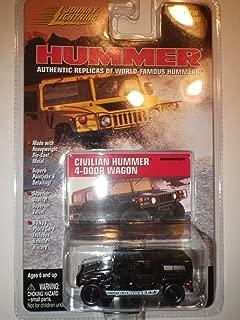 Johnny Lightning Hummer 1999 Black Civilian Hummer 4-Door Wagon