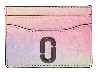Marc Jacobs Snapshot Airbrushed Card Case (White) Wallet Handbags