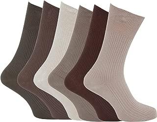 6 Homme agneaux laine mélangée Lycra ® traditionnel Argyle chaussettes UK 6-11