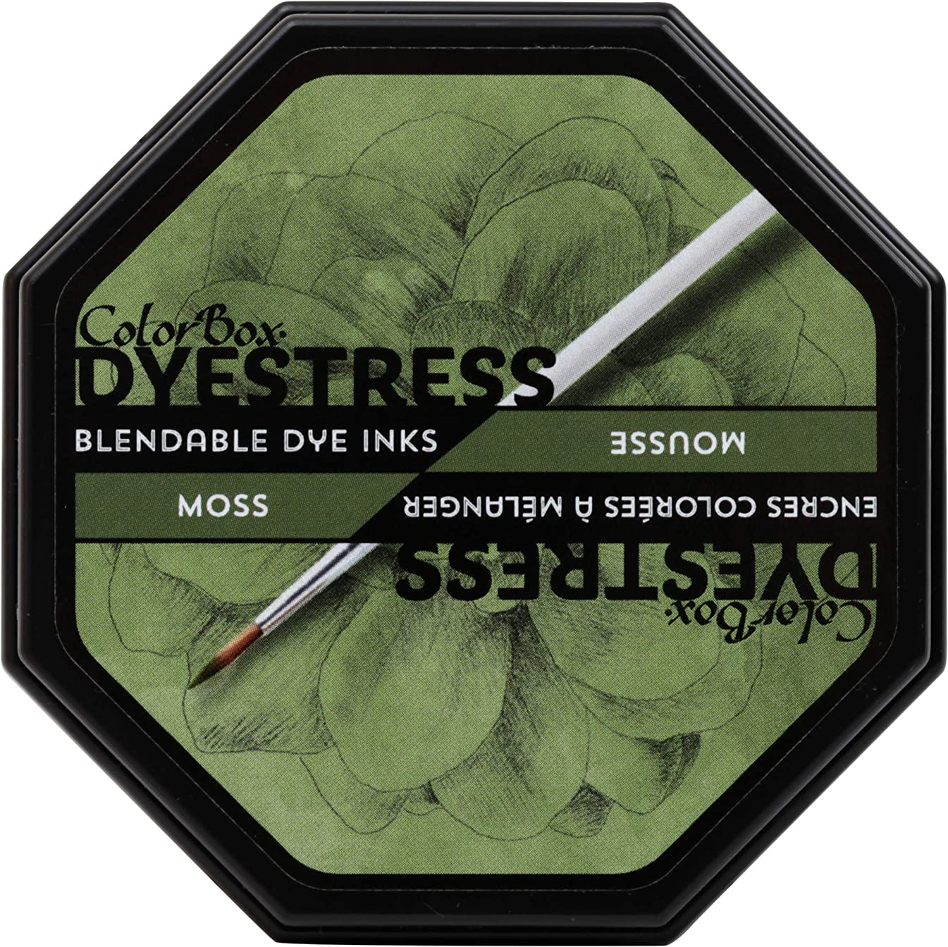 ColorBox 23120 DyeStress Inkpad Moss,