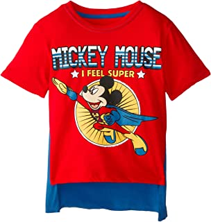 Boys' Mickey Mouse Super Short Sleeve Cape T-Shirt