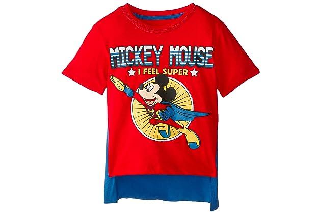 41a65e20 Disney Boys' Mickey Mouse Super Short Sleeve Cape T-Shirt