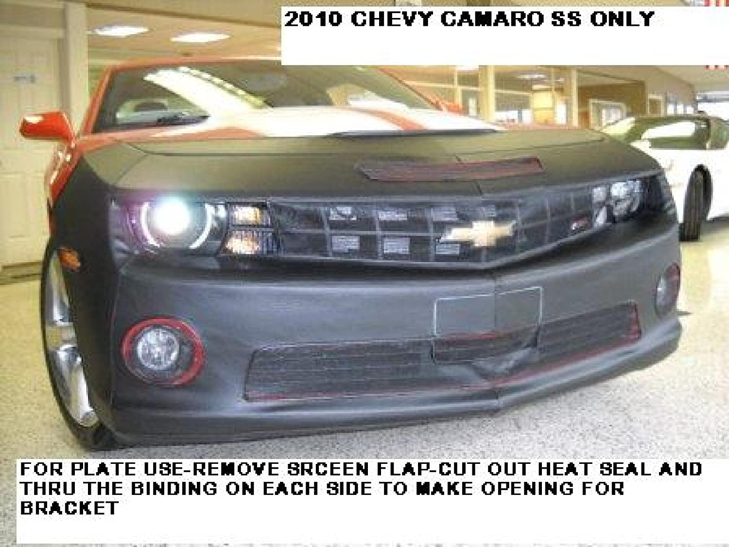 Lebra 2 piece Front End 1 year warranty Cover Mask a Bra Omaha Mall Black Chevy Camaro SS -
