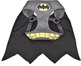 DC Comics Harness for Dogs | Superman, Batman, and Wonder Woman Dog Harness | Superhero Dog Harnesses in Multiple Sizes