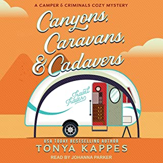 Canyons, Caravans, & Cadavers: A Camper and Criminals Cozy Mystery, Book 6