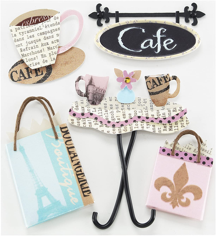 Jolee's Boutique Cafe Dimensional Embellishments