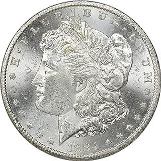 1884-CC Morgan Silver Dollar, MS63, Uncertified