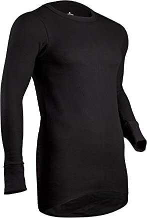 Indera Men's Icetex Performance Thermal Underwear Top with Silvadur