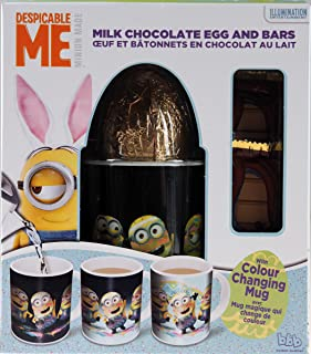 Minions Chocolate Easter Egg 45g / Magic Colour Changing Mug Gift Set