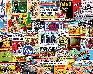 White Mountain Puzzles Fabulous 50s - 1000 Piece Jigsaw Puzzle