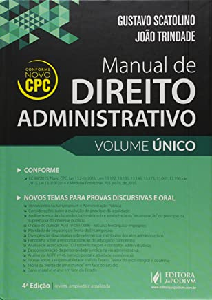 Manual de Direito Administrativo - Volume Único