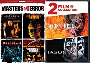 Masters of Terror 6-Movie Horror Pack - Halloween: H20, Hellraiser: Inferno, Dracula II: Ascension, Children of the Corn V: Fields of Terror, Jason Goes to Hell: The Final Friday & Jason X Bundle