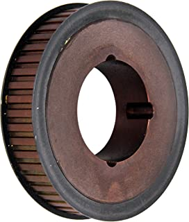 13 Groove Gates PB13L100 PowerGrip Steel Timing Pulley 1.552 Pitch Diameter For 1 Width Belt 3//8 to 3//4 Bore Range 3//8 Pitch