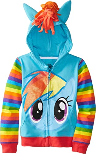 My Little Pony Big Girls Zip-up Hoodie