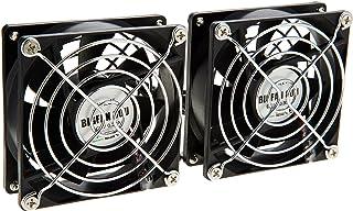 TIMELY 2連USBファン BIGFAN80U for Men Stereo BIGFAN80U-STEREO