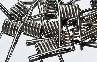 Pack of 10 Prebuilt Handmade Fused Clapton Ni80 2x26GA+1x38GA for Craft Hobby Use