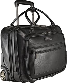 Kenneth Cole Reaction Pebbled Faux Leather 16-inch Laptop Wheeled Business Tote