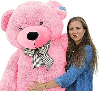 Joyfay Giant Pink Teddy Bear- Big, 6 ft Plus (78 inch) Teddy Bear. Huge Pink Stuffed Animal. Looks just like the Picture.
