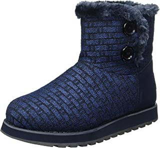 Skechers Women's Keepsakes-Short Big Button Boot Winter