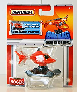 MATCHBOX BIG RIG BUDDIES ROGER THE HELICOPTER