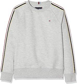 Felpa Bambino Tommy Hilfiger Hilfiger Stripe CN Sweater