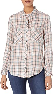 William Rast Women's Carina Button Down Shirt