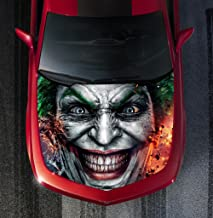 Avery H26 EVIL CLOWN - HOOD WRAP - Wraps Decal Sticker Tint Vinyl Image Graphic Carbon Print Laminated Printed Fiber