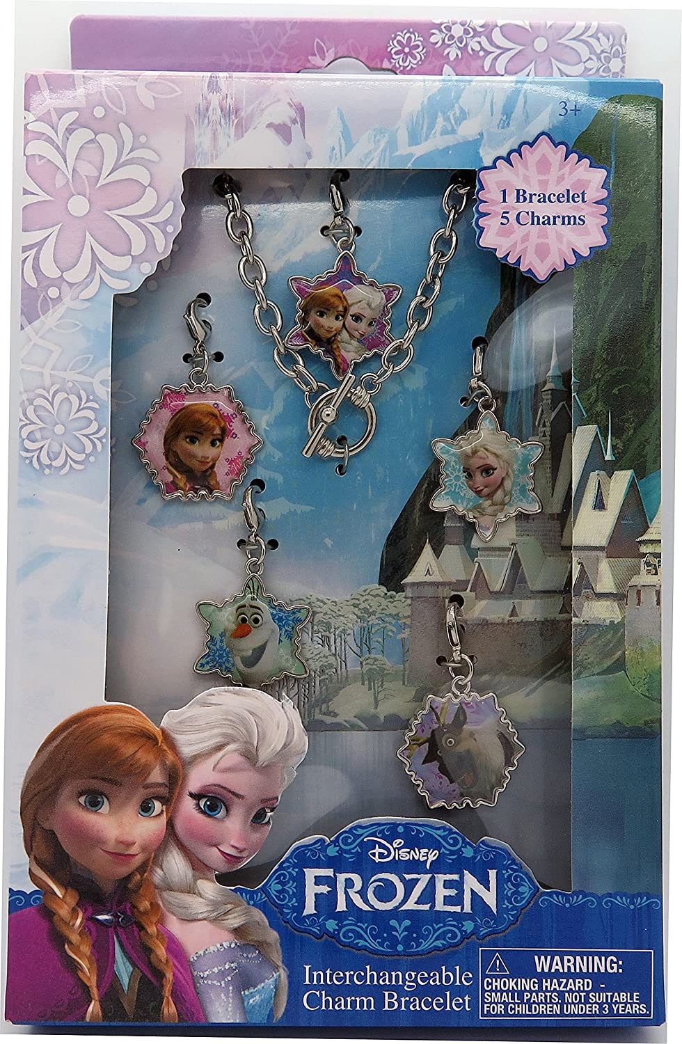 Disney Frozen Oklahoma City Mall Jewelry Box Set Bracelet Charm sold out Metal with