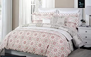 Cynthia Rowley 4 Piece Queen Size Bed Sheet Set Extra Deep Pockets Polar Bears in Red and Blue Scarves and Hats on Light Gray Cynthia Rowley New York