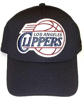 Los Angeles Clippers Black Run & Gun Flex Fitted Adidas Hat - L/XL - MZ305