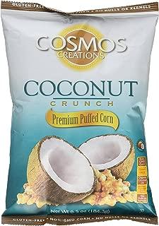 Cosmos Creations Puffed Corn Coconut Crunch 6.5 oz bag
