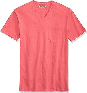 Goodthreads Men's Short-Sleeve V-Neck Slub Pocket T-Shirt