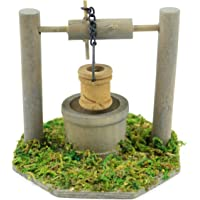 Touch of Nature Mini Fairy Garden Wishing Well (3.5 by 3