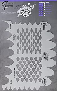 Artool Freehand Airbrush Templates,  Dragon Skin