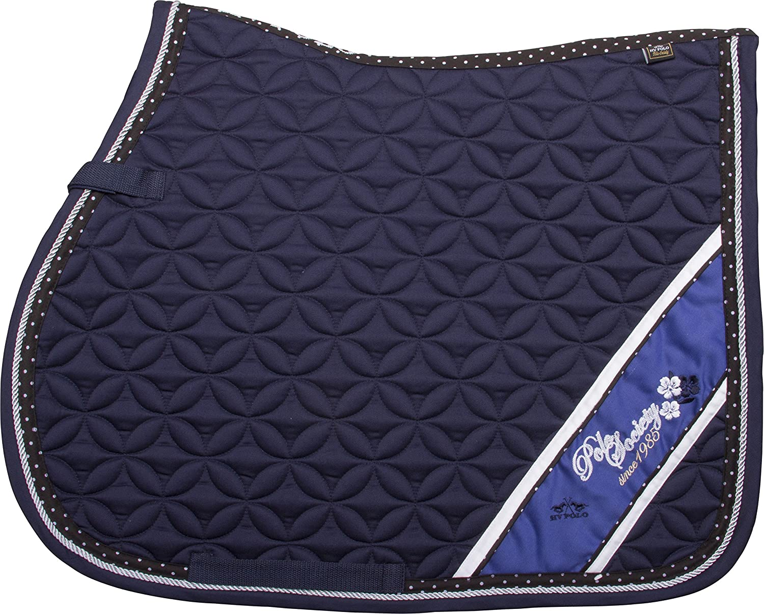 HV POLO Saddle Pad Saddle Cloth Full Vs Anvers or Dr Navy