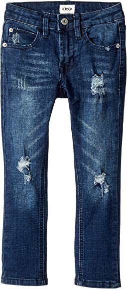 Hudson Kids - Jude OG Skinny Five-Pocket Jeans in Storm (Toddler/Little Kids/Big Kids)