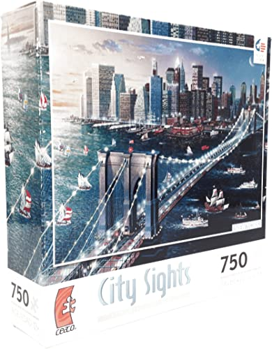 Ceaco City Sights San Francisco Puzzle (750 ück)
