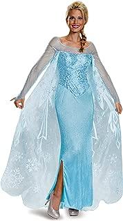 Disguise Women's Elsa Prestige Adult Costume