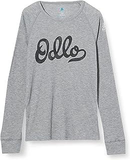 Odlo Bl Top Crew Neck L/S Active Warm Trend Kids Camiseta Bebé-Niños