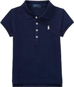 Polo Ralph Lauren Kids - Short Sleeve Mesh Polo Shirt (Toddler)