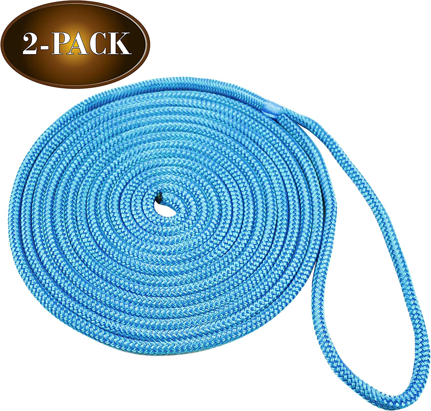 DC Cargo Mall 2 Seattle Max 83% OFF Marine-Grade ⅜à Double-Braided Dock Lines