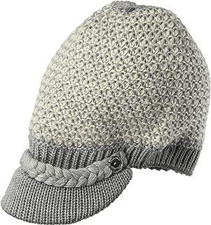 Women's Textured Lurex Cabbie Hat