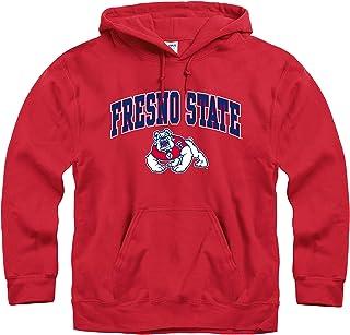NCAA Fresno State Bulldogs Polar Fleece Hooded Dog Jacket Medium
