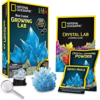 National Geographic JM00670 NGBCRYSTAL Crystal Growing Lab, Blue