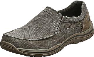 Skechers انتظار مردانه Avillo Relaxed-Fit Slip-On Loafer