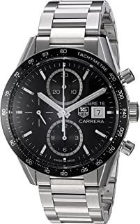 [タグホイヤー]TAGHEUER 腕時計 カレラ クロノグラフ ブラック CV201AJ.BA0727 メンズ [並行輸入品]