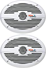 BOSS Audio Systems MR690 350 Watt Per Pair, 6 x 9 Inch, Full Range, 2 Way Weatherproof..