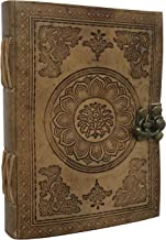 Leather Journal   Leather Notebook   Leather Journal for Men   Leather Notebook for Men   Leather Blank Book   Leather Sketchbook   Leather Travel Journals (7 x 5 Mandala Emboss)