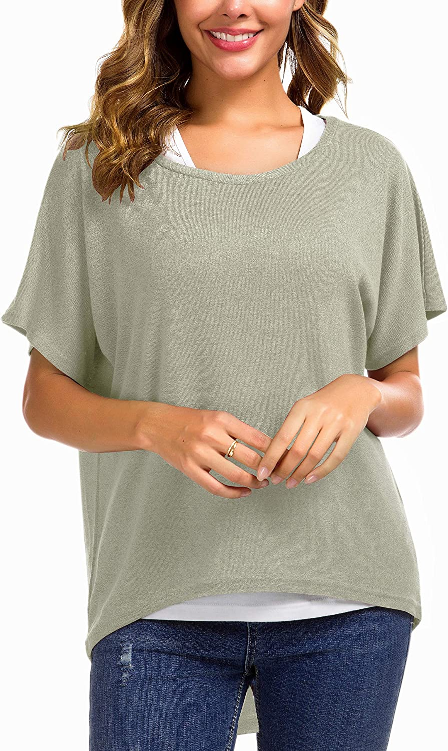 Women's Sweater Casual Oversized Baggy Off-Shoulder Shirts