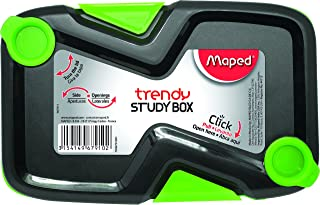 Maped Trendy Study Pencil Case, Assorted Colors (967910)